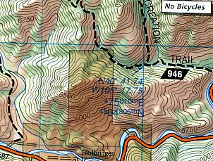 Cache La Poudre and Big Thompson Area.