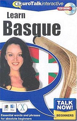 Talk Now! Basque CD ROM Language Course.