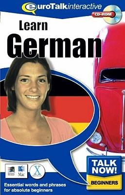 Talk Now! German CD ROM Language Course.