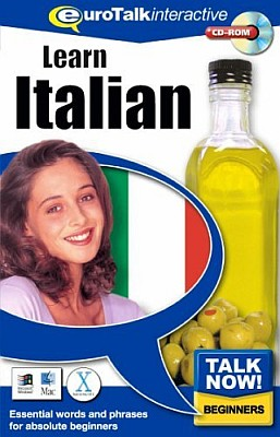 Talk Now! Italian CD ROM Language Course.