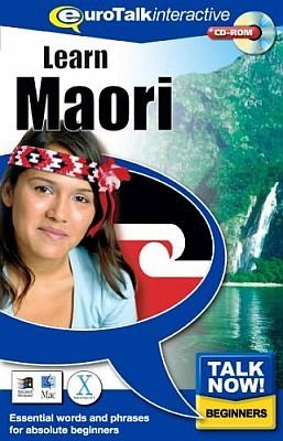 Talk Now! Maori CD ROM Language Course.