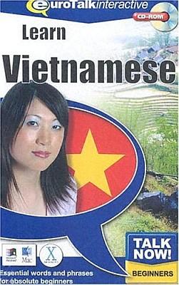Talk Now! Vietnamese CD ROM Language Course.