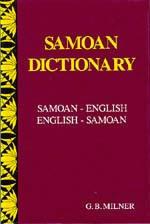 Samoan Language Dictionary.