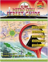 Cebu City Street Atlas, Philippines.