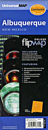 "Albuquerque ""Flipmap"", New Mexico, America."