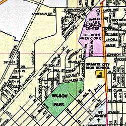 Alton and Belleville, Illinois, America.