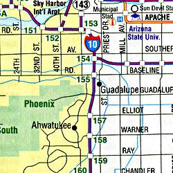 New Mexico and Arizona, New Mexico, America.