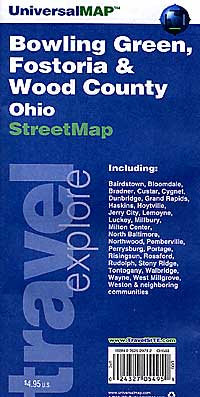 Bowling Green, Fostoria and Wood County, Ohio, America.