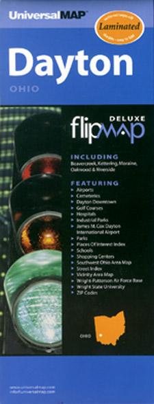 """Dayton """"Flipmap"""", Ohio, America."""