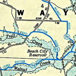Dover, New Philadelphia and Tuscarawas County, Ohio, America.