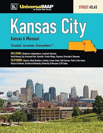 Kansas City Street ATLAS, Kansas, America.