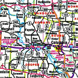 "Missouri ""Flipmap"" Road and Tourist Map, America."