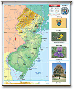 """New Jersey Thematic Primary """"Classroom"""" WALL K-2."""