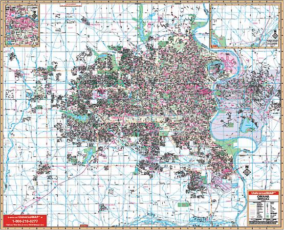 Omaha WALL Map.