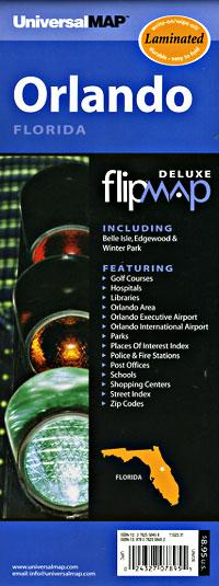 "ORLANDO ""Flipmap"" Florida, America."