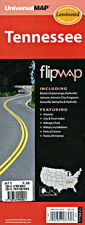 "Tennessee ""Flipmap"" America."
