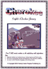 Cherokee Glossary (Dictionary).