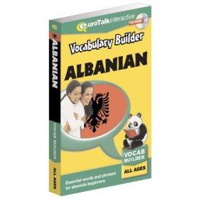 Albanian Vocabulary Builder CD ROM Language Course.