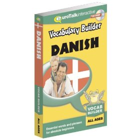 Danish Vocabulary Builder CD ROM Language Course.