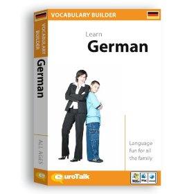 German Vocabulary Builder CD ROM Language Course.