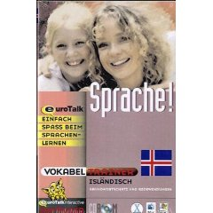 Icelandic Vocabulary Builder CD ROM Language Course.