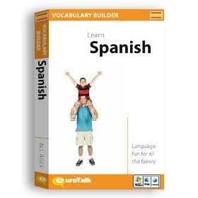 Spanish Vocabulary Builder CD ROM Language Course.
