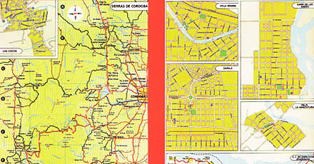 Argentina, Bolivia, All of Brazil, Chile, Paraguay, and Uruguay, Tourist Road ATLAS.
