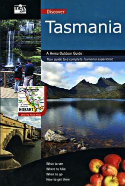 Tasmania State, Tourist Road ATLAS, Australia.