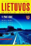 Lithuania Tourist Road Atlas. Scale 1:200,000.
