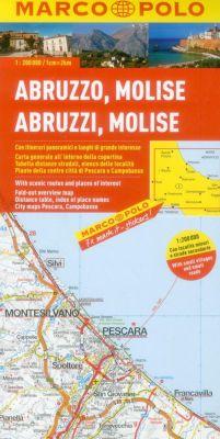 Abruzzo and Molise Region. Marco Polo edition.