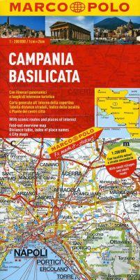 Campania Region. Marco Polo edition.