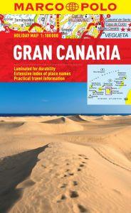 Gran Canaria City Street Map. Marco Polo edition.