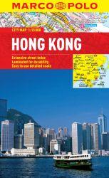 Hong Kong City Street Map. Marco Polo edition.