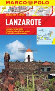 Lanzarote Road and Tourist Map. Marco Polo edition.