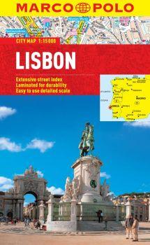 Lisbon City Street Map. Marco Polo edition.