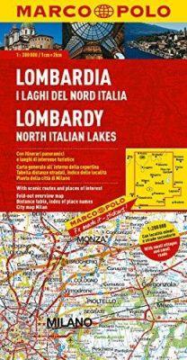 Lombardy Region. Marco Polo edition.