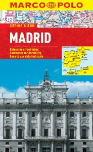 Madrid City Street Map. Marco Polo edition.