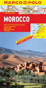 Morocco Road and Tourist Map. Marco Polo edition.