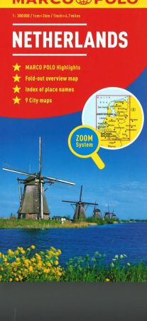 Netherlands Road and Tourist Map. Marco Polo edition.