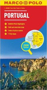 Portugal Road and Tourist Map. Marco Polo edition.